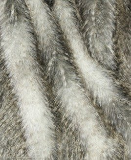 FAUX FUR MANULA GREY
