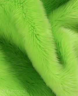 FAUX FUR SHAGGY GREEN