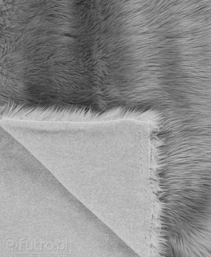 FAUX FUR FOX GREY