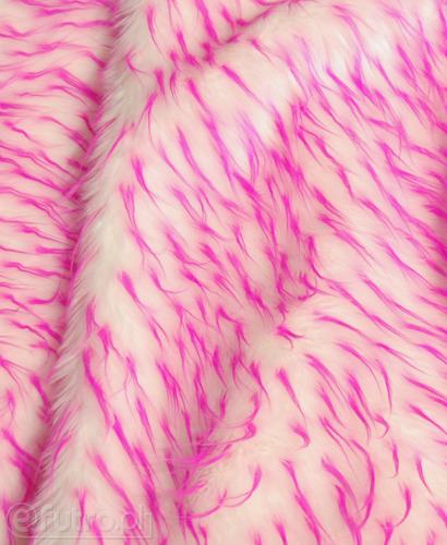 FAUX FUR HEDGEHOG PINK