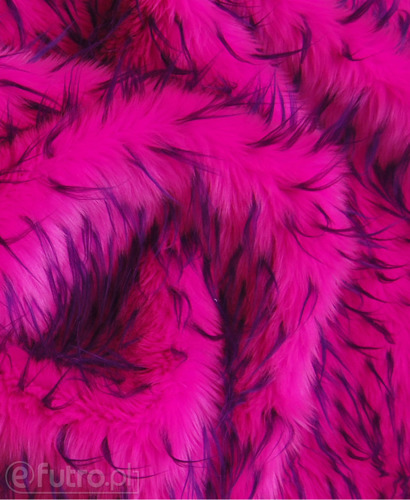 FAUX FUR HEDGEHOG PURPLE