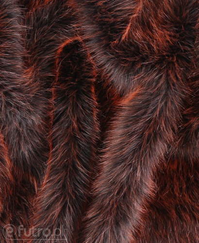 FAUX FUR FOX GINGER