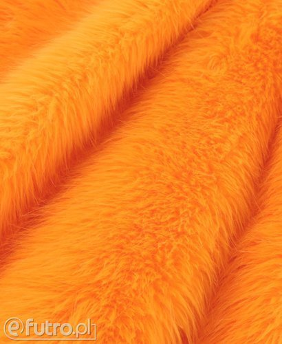 FAUX FUR FOX ORANGE