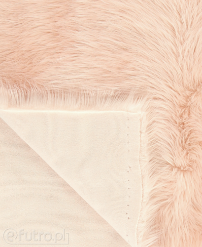 FAUX FUR FOX PINK