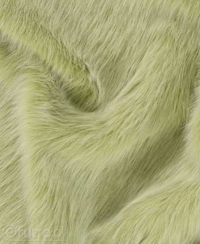 FAUX FUR FOXTROT GREEN