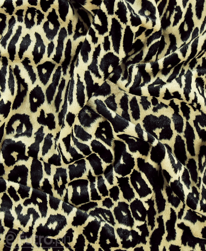 FAUX FUR JAGUAR BEIGE