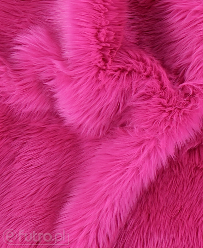 FAUX FUR SHAGGY PINK