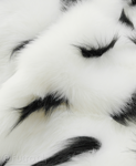 FAUX FUR ERMINE WHITE